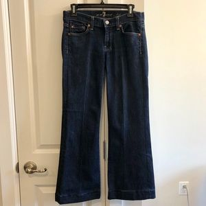 Seven For All Mankind Dark Wash Dojo Jeans